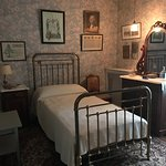 FDR's bedroom as a youth