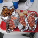 Lobster Rolls and Onion Rings