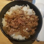 gyudon or beef with rice