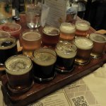 Beer selections.