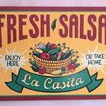 The reason we came to La Casita!