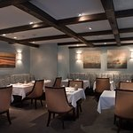 Our intimate, romantic dining room.