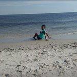 nice beach, the kids love it here