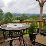 The Hideaway Room's private deck