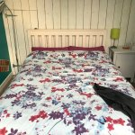 Double bed same in both rooms