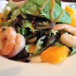 Prawns, avocado, papaya, artisan greens & spicy lime vinaigrette