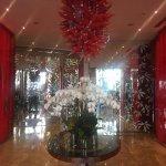 Beautiful foyer & light