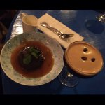 Sticky date Pudding with double cream paired with Espresso Martini.......awesome.