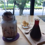 Ice Chocolate drink & Cold Brew