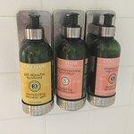 Nice Soaps and Shampoo