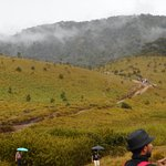 Horton Plains while on the trail