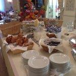 Breakfast buffet (part of)