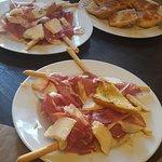 jambon - parmesan : duo de choc