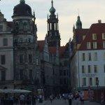 Hotelansicht von der Schlossstrasse aus