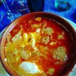 Sopa castellana de mi mujer.