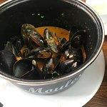 Mussels in sri lankan gravy