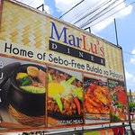 MarLu's Diner is known for its sebo free bulalo sa palayok served to your table boiling hot.