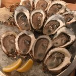 Mixed raw oysters