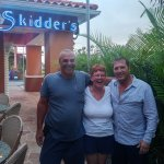 Skidders Restaurant with manager Peter