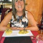Truffle taster menu pasta course