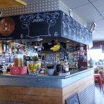 le bar, comptoir
