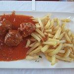 albondigas con patatas (menu)