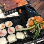 Sushi et temaki