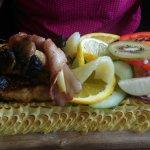 Planka på kycklingfilé ! Underbar !
