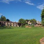 vue du golf sur les chambres