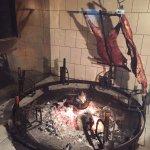 Cordeiro no fogo