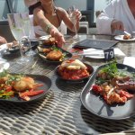 Tapas on the terrace