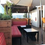Roof Bar seating area