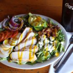 Cobb salad with Smoked Chicken