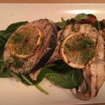 Succulent sword fish...