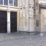 Seiteneingang Kathedrale