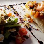 Roasted Cod with salad