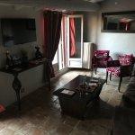 Salon de la suite chambre 15