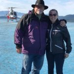 Touring the top of Mendenhall glacier thanks to TEMSCO Hellicopters