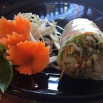 Spring rolls, crunch and freshness in a roll!