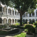 One of the courtyards