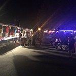 Petit marché tout les soirs au camping