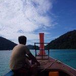 En la barca