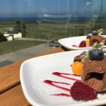 Dessert with a view