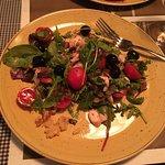 Octopus salad, delicious