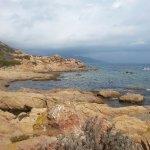 Vue depuis les îles sanguinaires (escale)