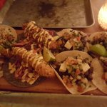 Tacos from the sharing platter
