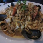 Chock full of yummy seafood