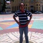 Essa é a praça do marco zero de Recife.