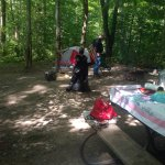 Hiking pics and large campsite