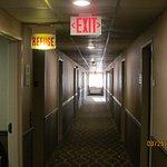 2nd floor hallway. Refuge!